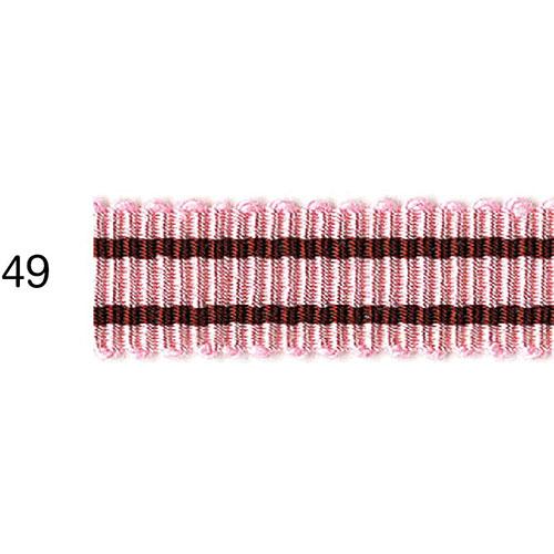 ストライプグログランリボン 49