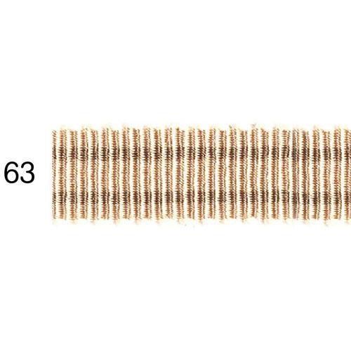 ストライプグログランリボン 63