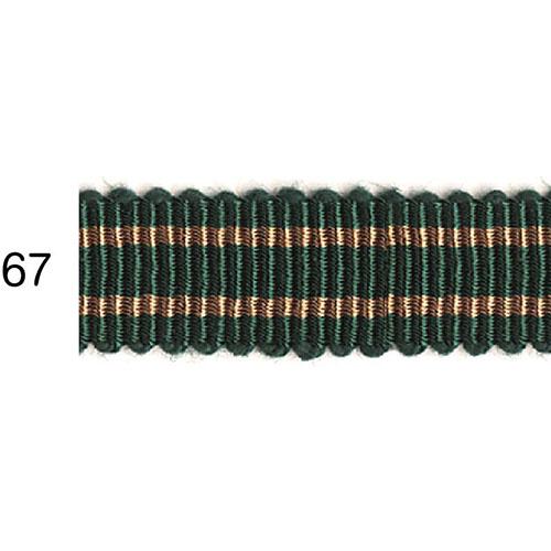 ストライプグログランリボン 67