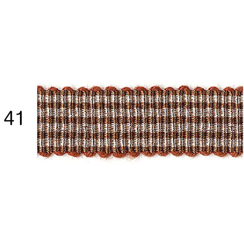 ストライプグログランリボン 41