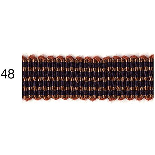 ストライプグログランリボン 48