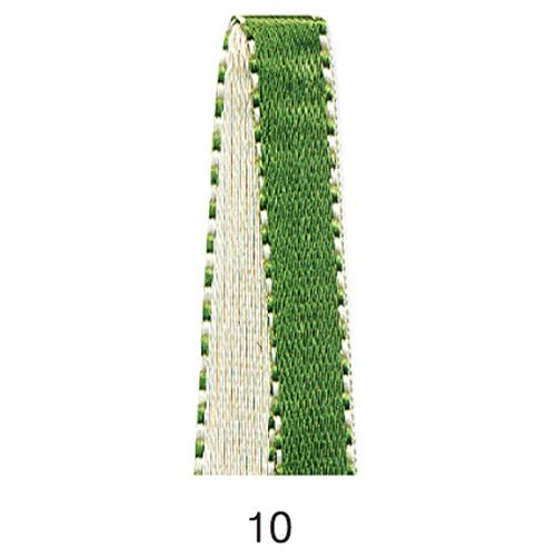リバーシブルサテンリボン 10
