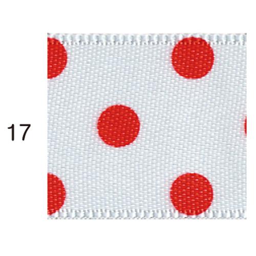 ドットサテンリボン 17