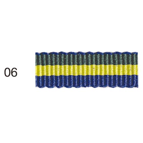 ストライプグログランリボン 06