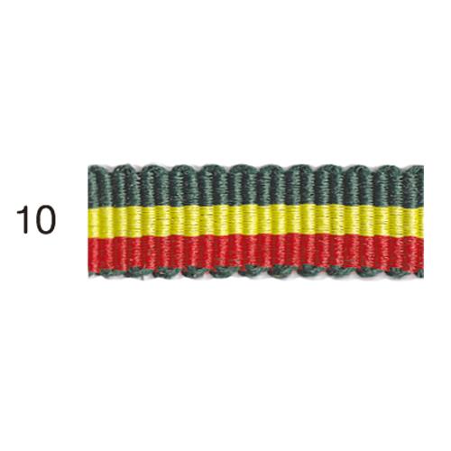 ストライプグログランリボン 10