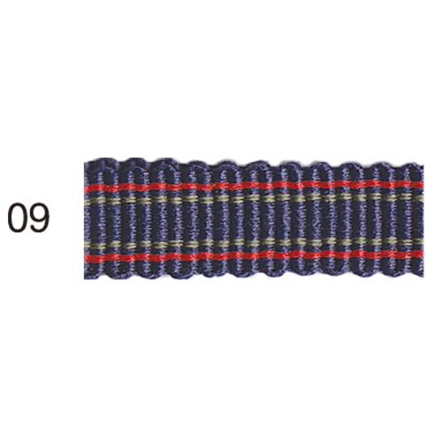 ストライプグログランリボン 09