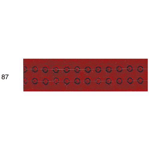 スパンコール付ベルベットリボン 87