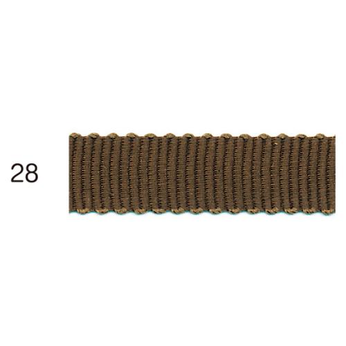 ポリエステルグログランリボン 28