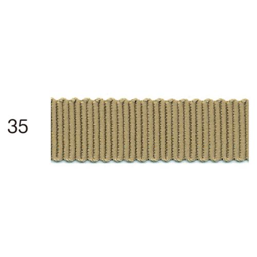 ポリエステルグログランリボン 35