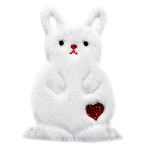 ファー・ワッペン(ウサギ) if-3006