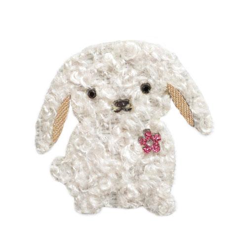 ファーワッペン(ウサギ) if-4026