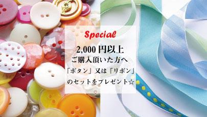 2000円以上プレゼント
